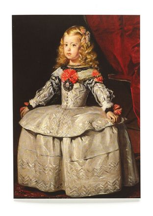 Velázquez - Infanta Margarita Teresa in a White Dress