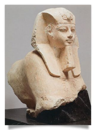 Front Part of a Sphinx of Amenhotep III