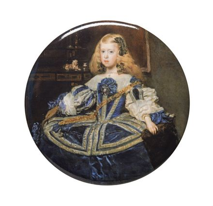Velázquez - Infanta Margarita Teresa in a blue dress