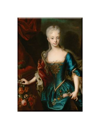 Portrait of the young Maria Theresia