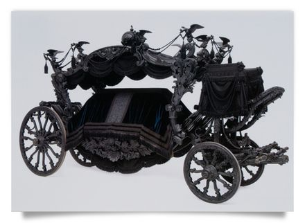 Black Hearse of the Viennese Court