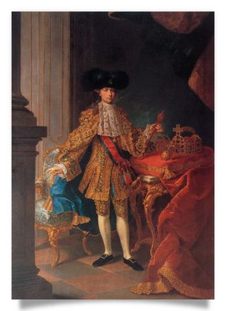 Emperor Joseph II with the official Insignia, 1765