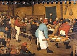 Bruegel - Peasant Wedding