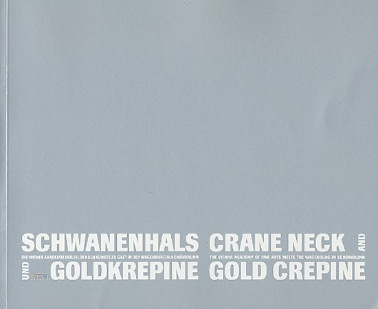 Crane Neck and Gold Crepine