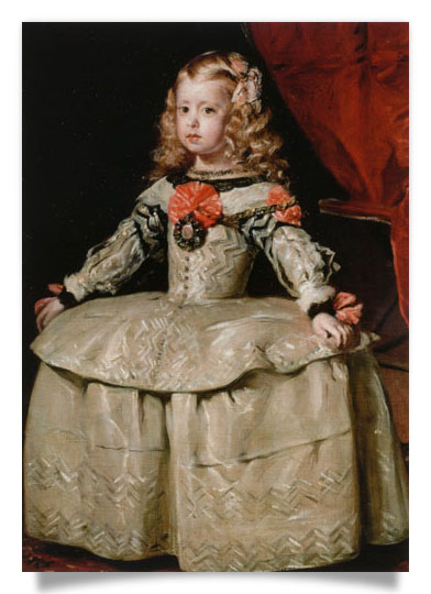 Infanta Margarita Teresa in a White Dress