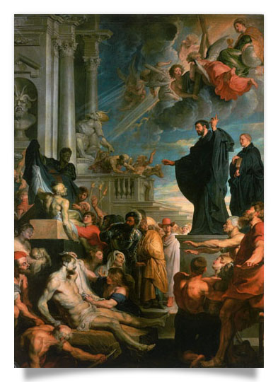 Miracles of St. Francis Xavier