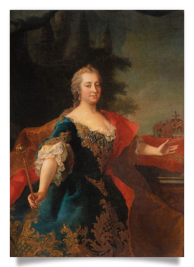 Portrait of Maria Theresa as Queen of Hungary