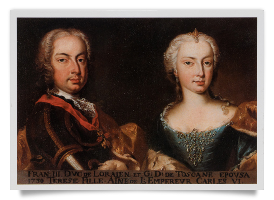 Franz Stephan of Lorraine and Maria Theresa
