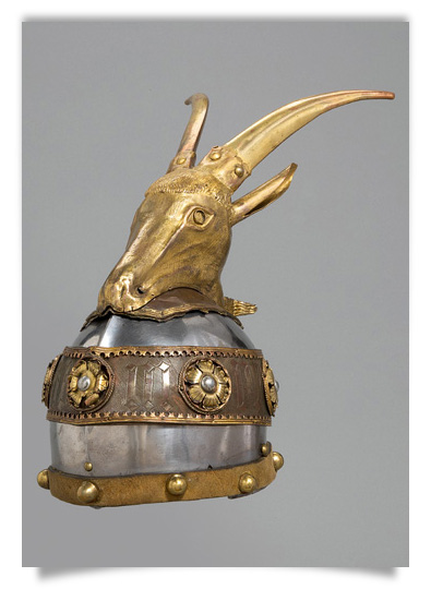Ceremonial Helmet of Skanderbeg (?)
