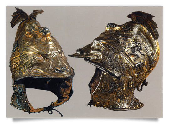 All´antica Morion of   Archduke Ferdinand II