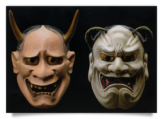 NO-Mask hannya