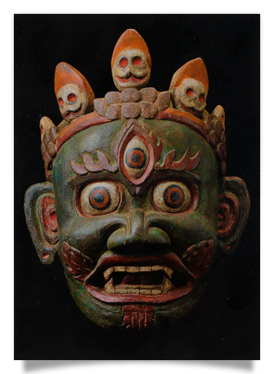 Dancing Mask Mahakala