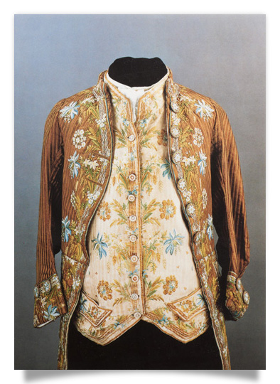 Rococo-style courtier's coat