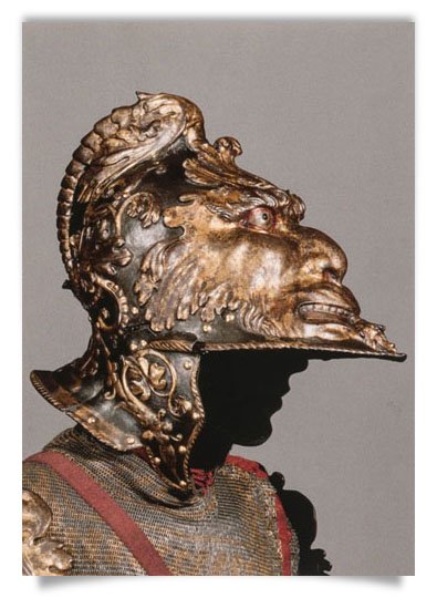 "Morion of the ""Roman Armour"""