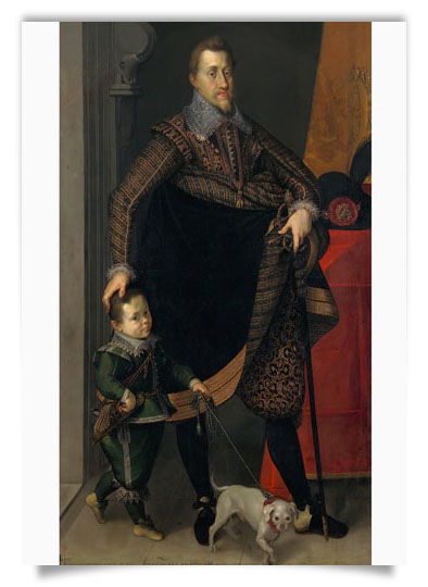 Emperor Ferdinand II with a Court Dwarf